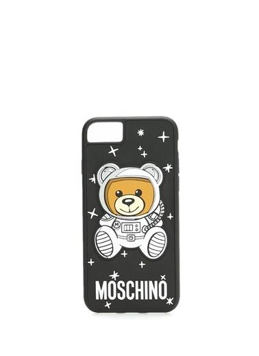 Moschino iPhone 7/8 Aksesuar Siyah